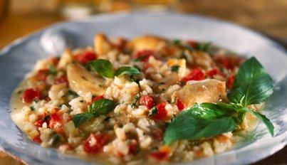 risotto med kylling og karry